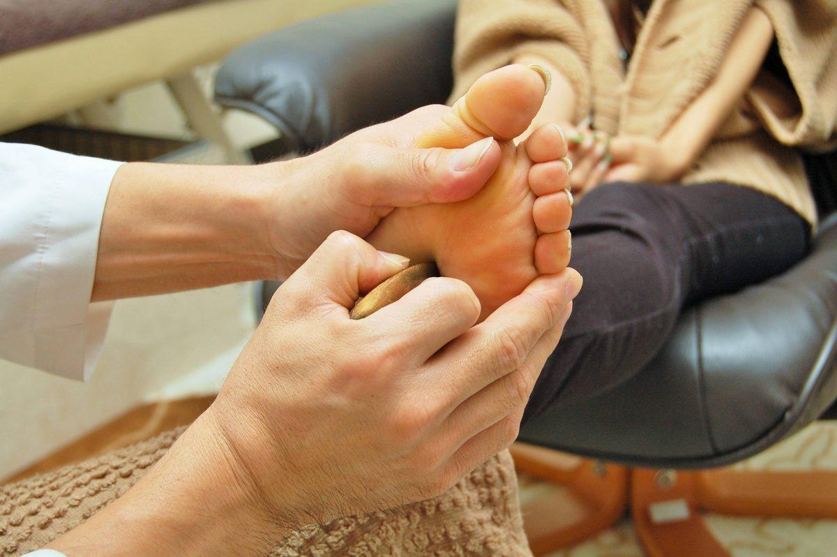 ☆足つぼ療法1